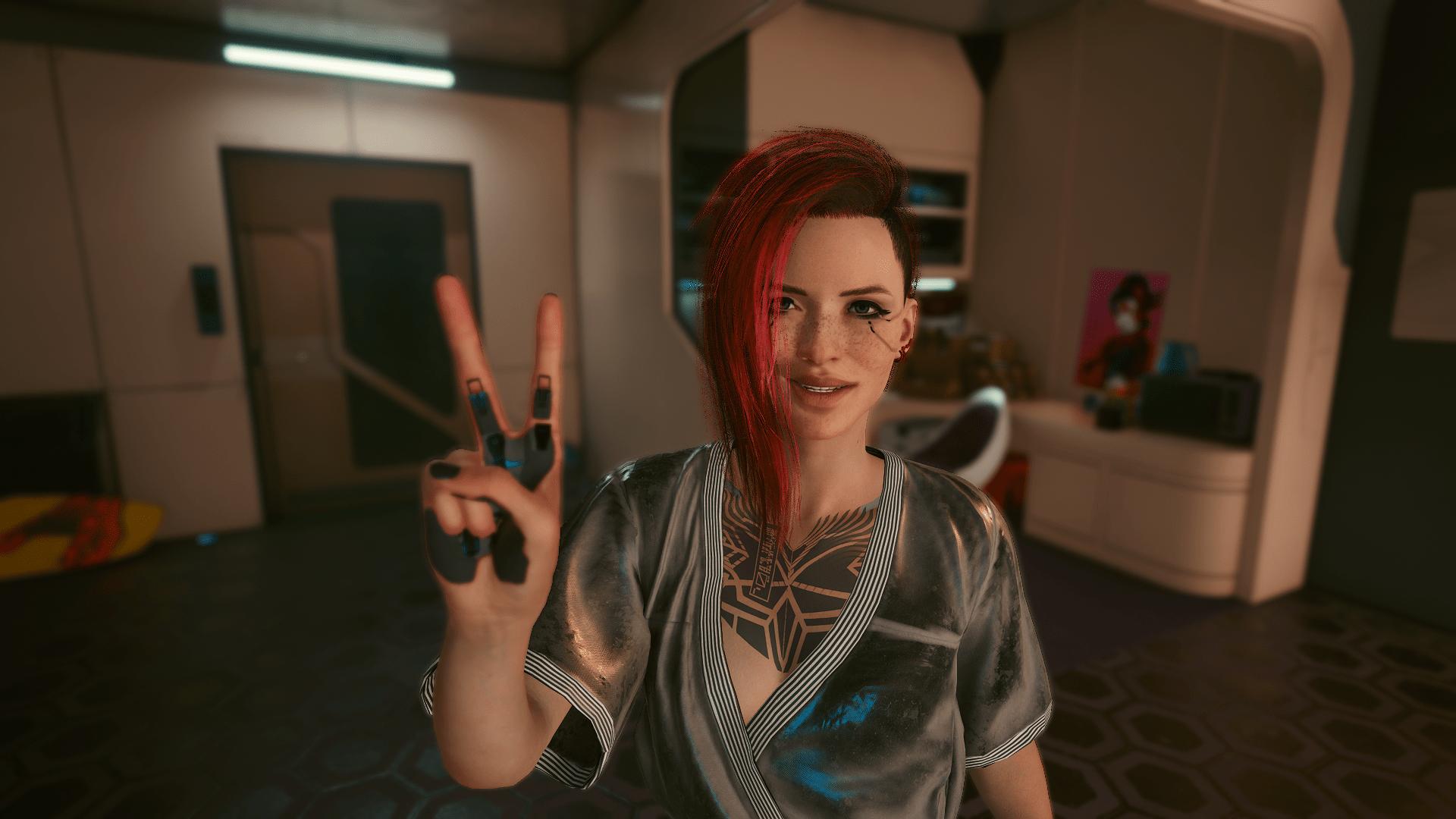 Vs Character Preset by Jade - Cyberpunk 2077 Mod