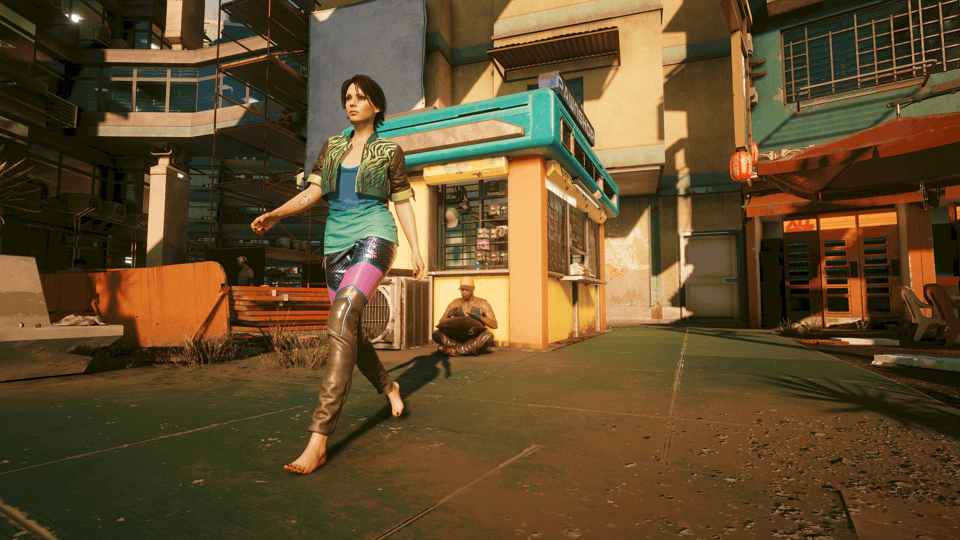 Female Vs Less Ugly Feet - Cyberpunk 2077 Mod