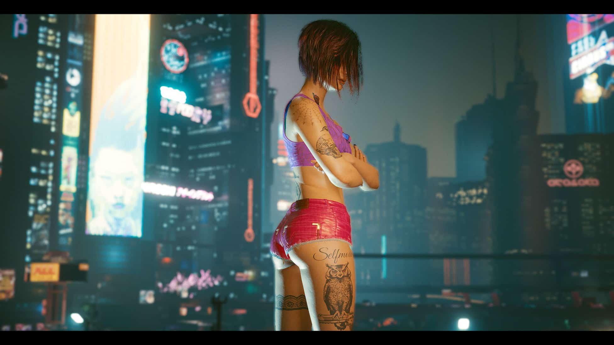 Judy V (Tattoos - face - preset) By Alostraz - Cyberpunk