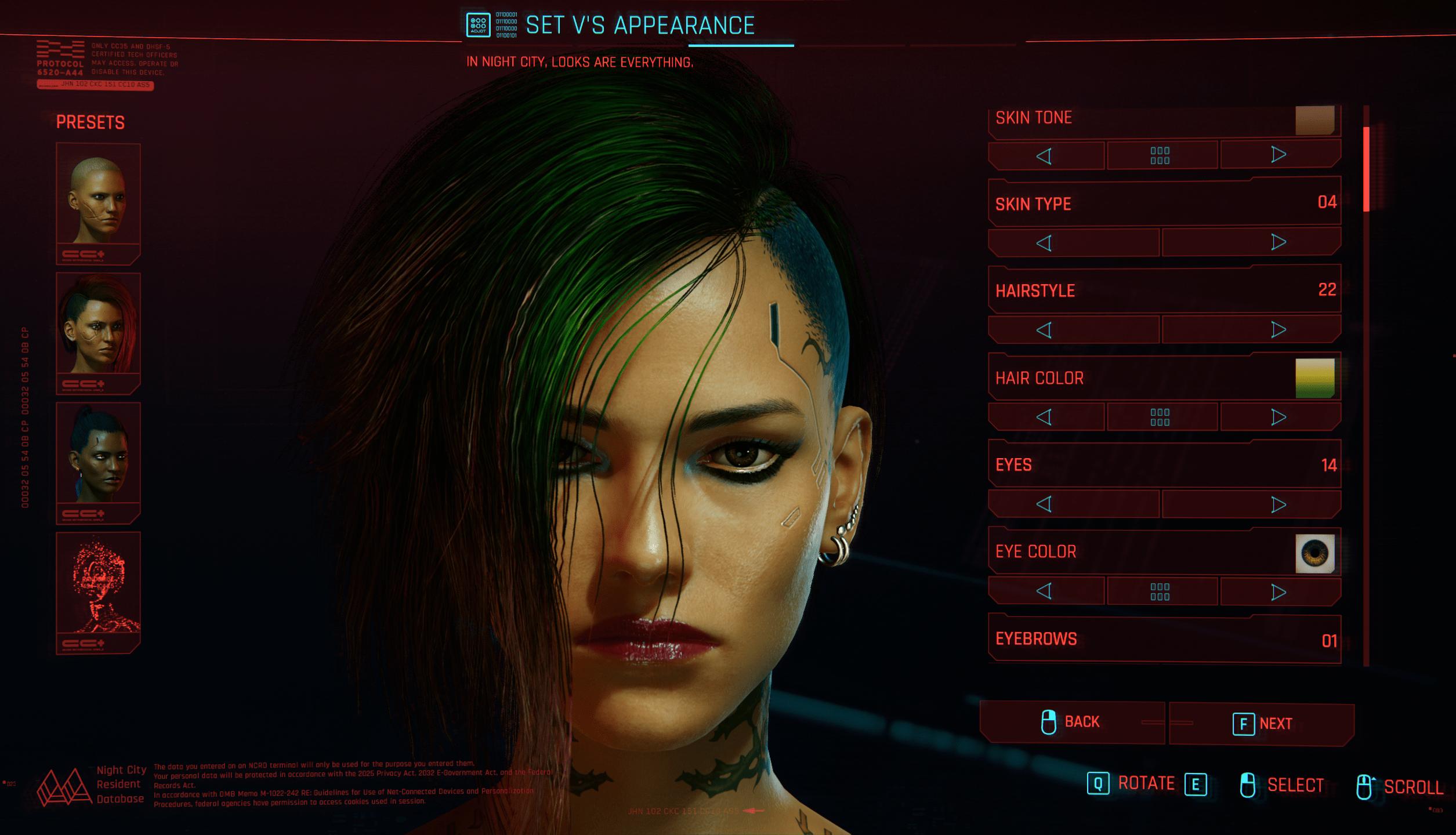 Judy Approved Female V (Preset File) - Cyberpunk 2077 Mod