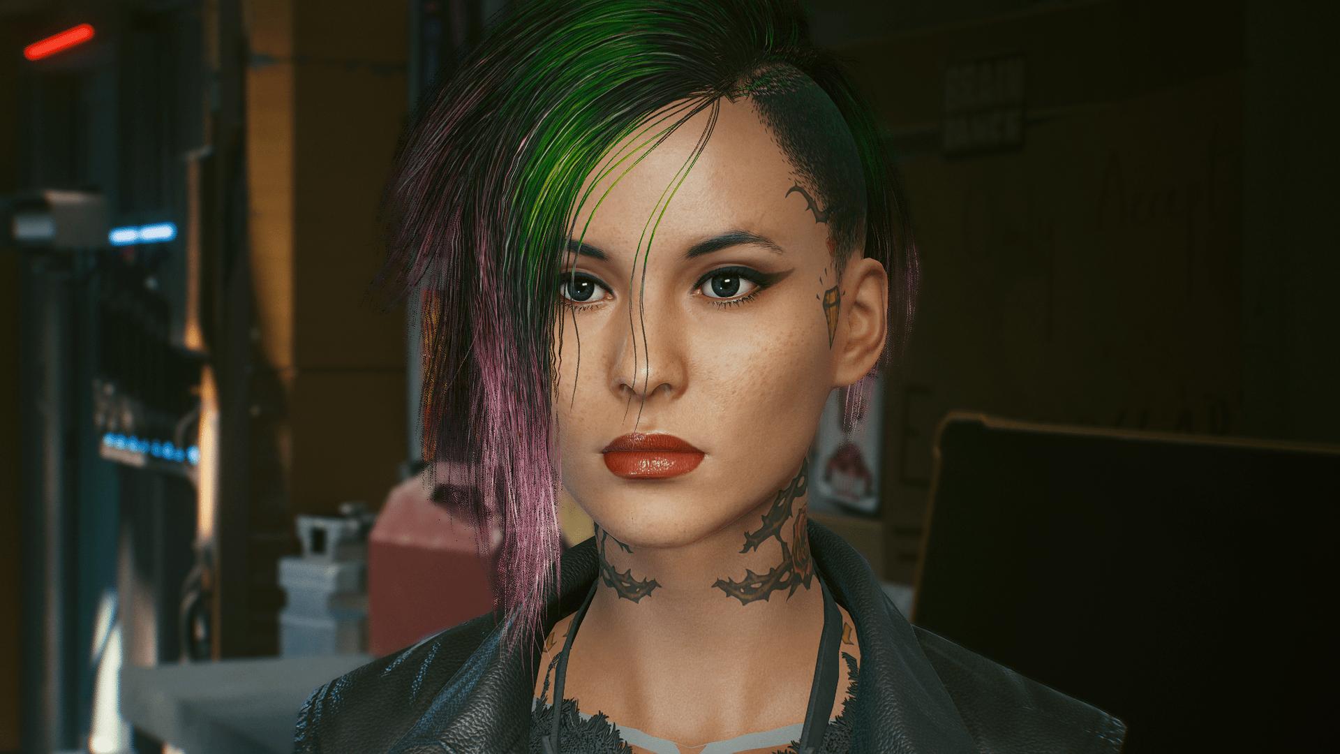 V judy Preset (CyberCAT) - Cyberpunk 2077 Mod