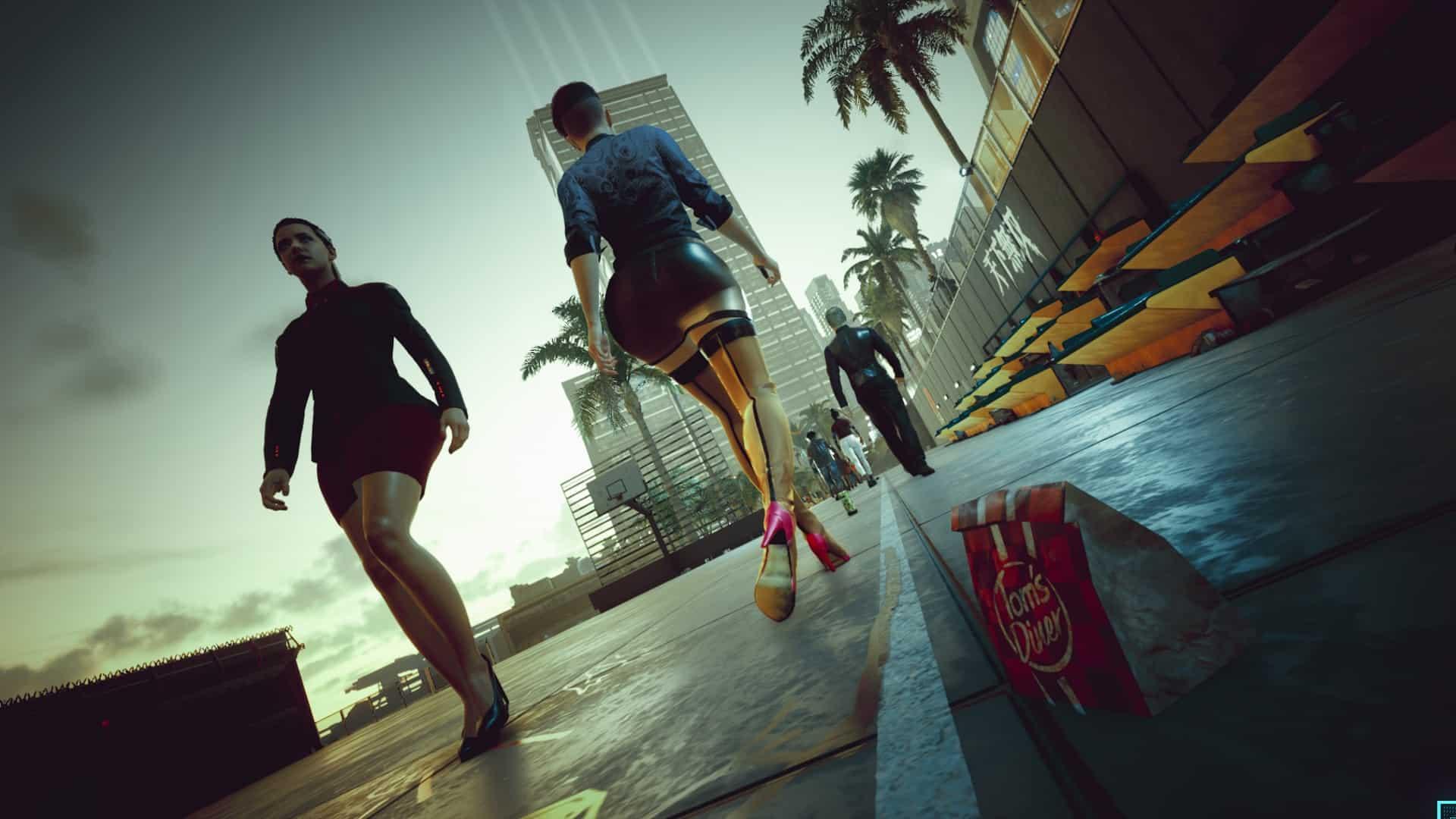 Female Vs Less Ugly Feet at Cyberpunk 2077 Nexus - Mods